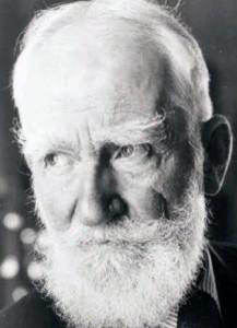 photo of George Bernard Shaw