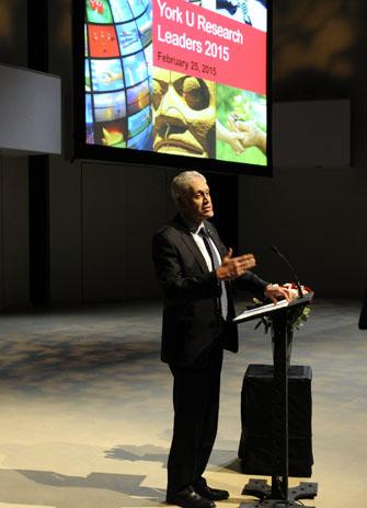 York University President Mamdouh Shoukri