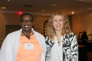 photo of MScN students Kadeen Briscoe and Sally Baerg