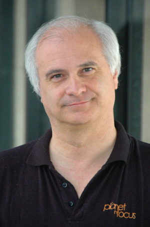 photo of Master's student Mark Terry