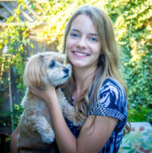 photo of Master's student Christina van den Brink