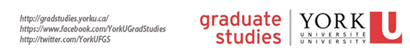 Faculty of Graduate Studies and York University logo