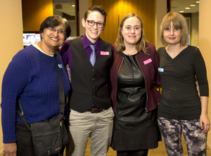 photo of Representatives from the Graduate Program in Gender, Feminist & Women's Studies