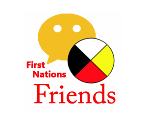 photo of the First Nations Friends logo