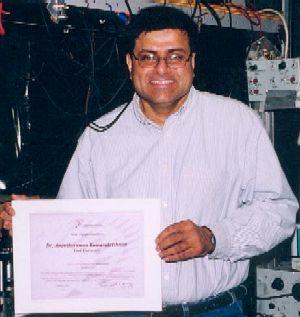 photo of Professor Anantharaman Kumarakrishnan