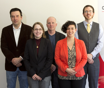 photo of five thesis and dissertation prize winners