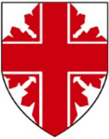 shield logo of the St. George's Society of Toronto
