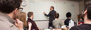 photo of Oren Tamir using a whiteboard