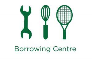 image of the borrowing centre wordmark