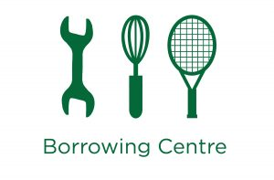 image of the borrowing centre wordmark