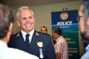 photo of Ottawa Police Chief Charles Bordeleau