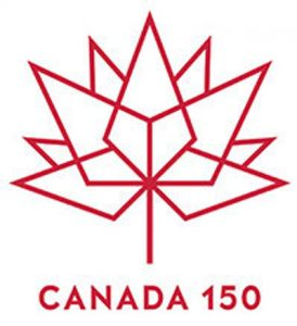 image of the Canada 150 logo