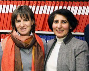 photo of Manuela Ferrari and Farah Ahmad