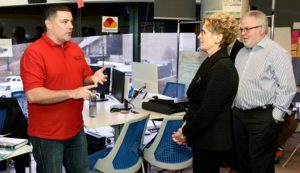 photo of Nicholas Steel and Kathleen Wynne