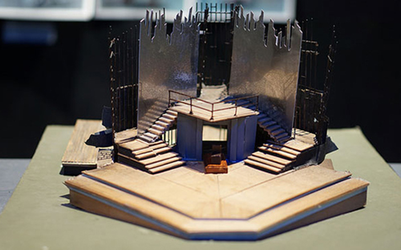 photo of Claire Hill's innovative set design