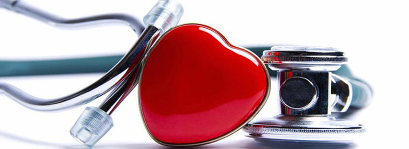 photo of a heart and stethoscope