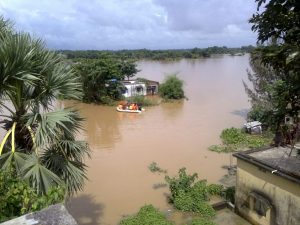 photo of a flood in India