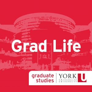 image of the Grad Life podcast logo