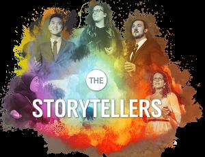 image of the SSHRC Storytellers logo