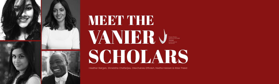 2019 Vanier Scholars