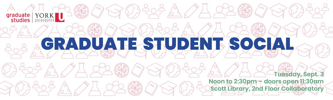 2019 grad student social