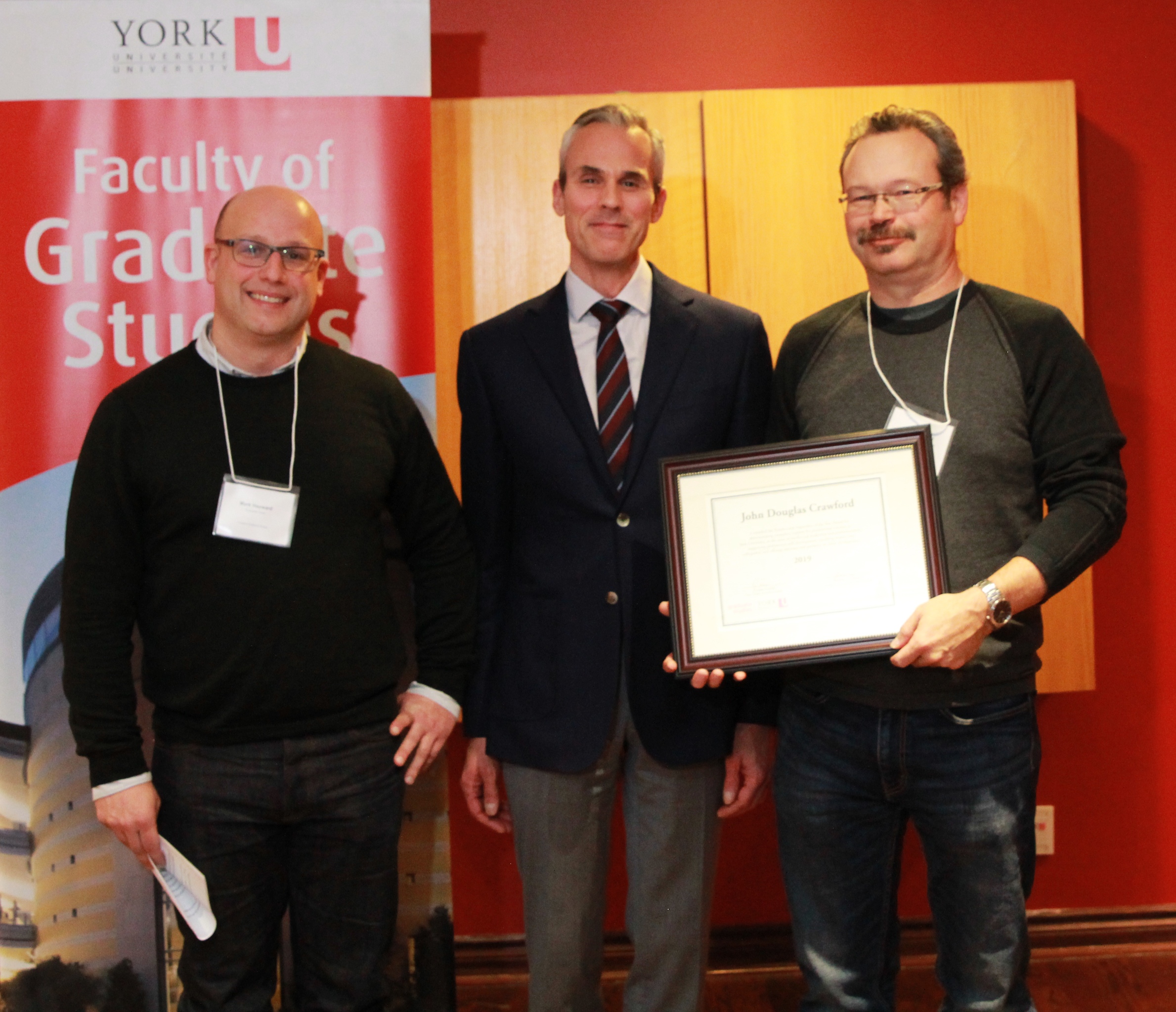 photo of Mark Hayward, Dean Thomas Loebel and Doug Crawford