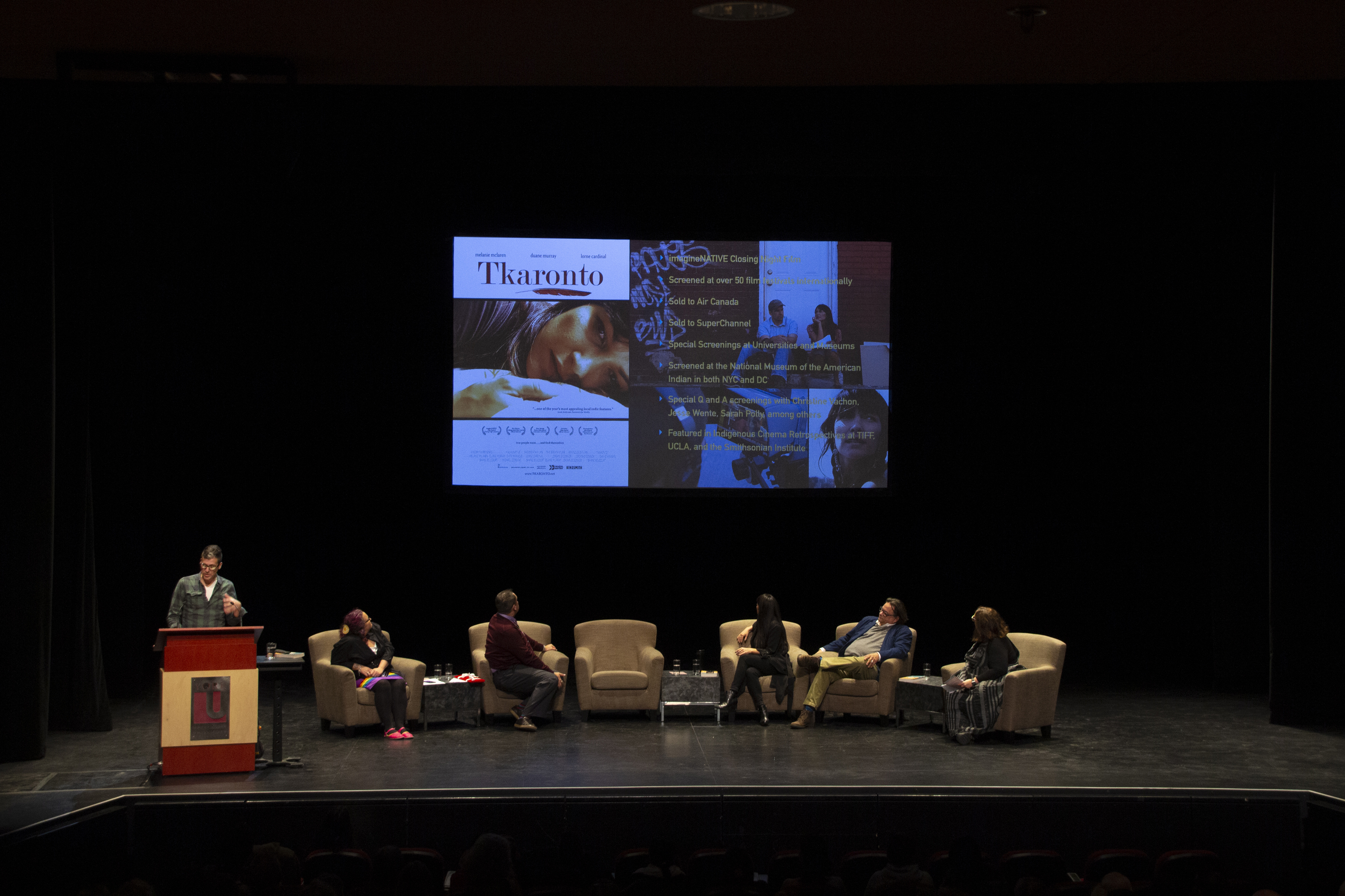 photo of the Kitty Lundy Lecture panelists and moderators on stage