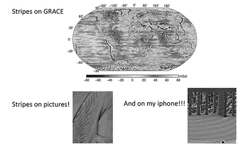 composite illustration showing the stripes phenomenon