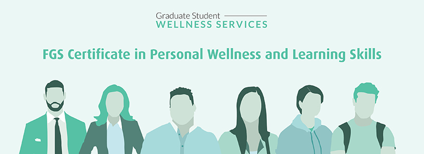 banner promoting the Certificate in Personal Wellness