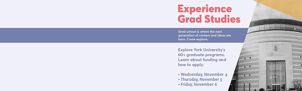 2020 Experience Grad