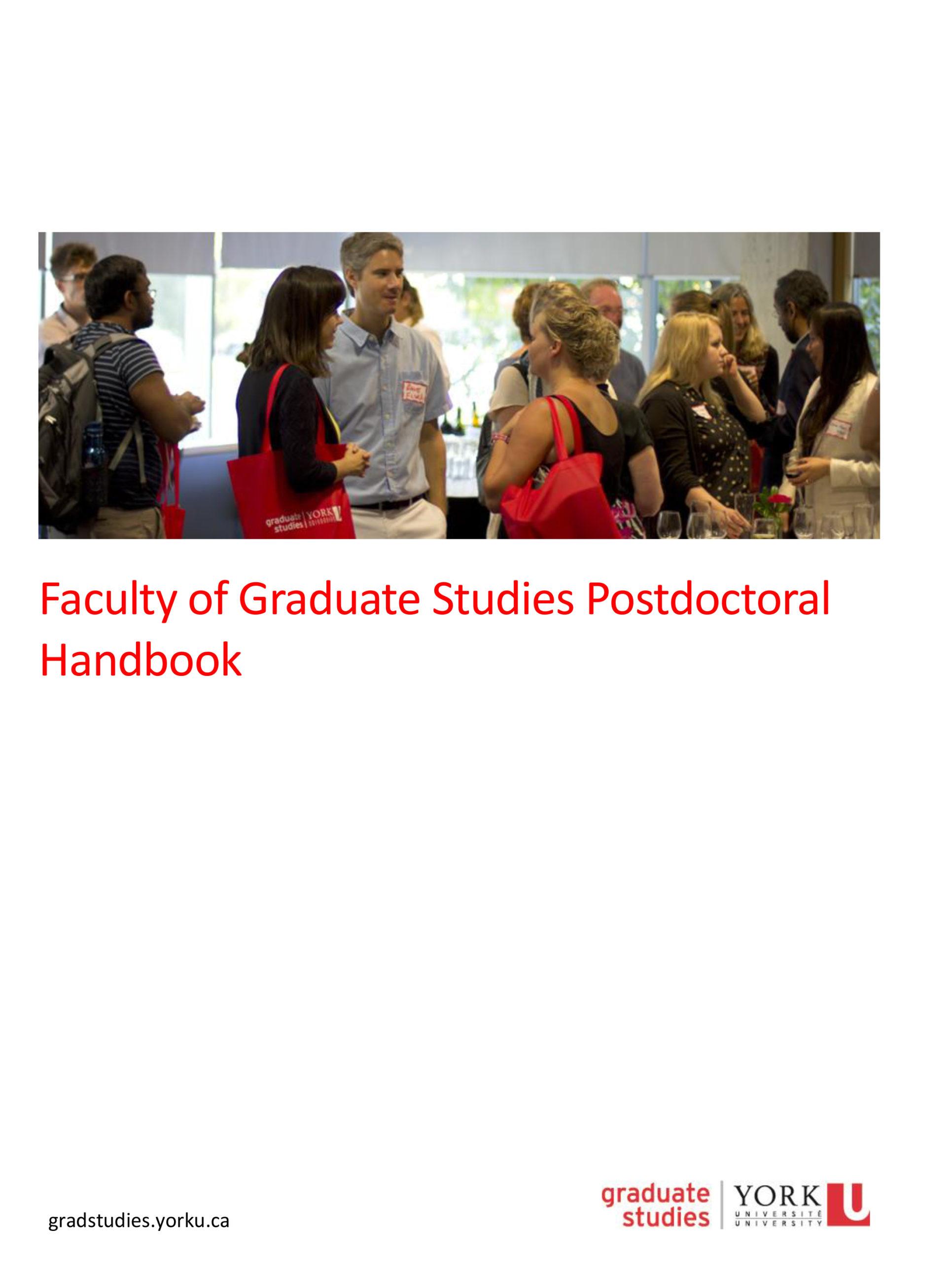 Postdoctoral Handbook