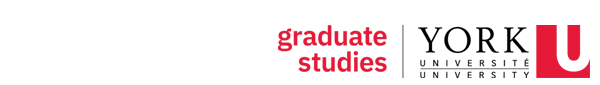 Faculty of Graduate Studies at York University logo
